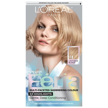 L'Oreal Paris Feria Permanent Haircolour Gel