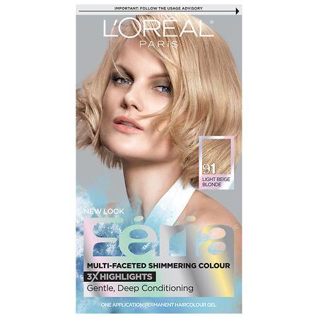 Permanent Haircolour Gel by L'Oreal Paris Feria