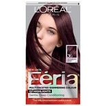 L'Oreal Paris Feria Multi-Faceted Shimmering Colour 3x Highlights, Permanent Chocolate Cherry 36