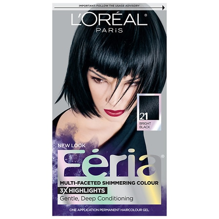 L'Oreal Paris Feria Multi-Faceted Shimmering Colour 3x Highlights, Permanent Starry Night 21