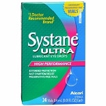 Systane Ultra High Performance Lubricant Eye Drops, Vials