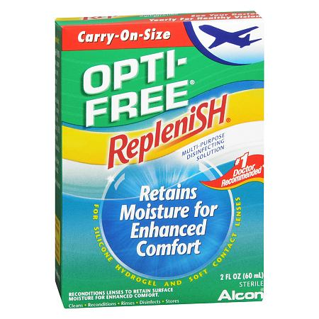 Opti-Free RepleniSH Multi-Purpose Disinfecting Solution Carry On Size