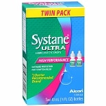 Systane Ultra High Performance Lubricant Eye Drops, Twin Pack