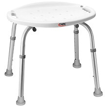 Carex Adjustable Bath & Shower Seat without Back