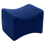 Carex Memory Foam Knee Pillow Blue