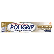 Super PoliGrip Denture Adhesive Cream Extra Care