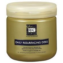 Daily Resurfacing Disks for Skin