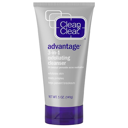 Clean & Clear Advantage 3-in-1 Exfoliating Skin Cleanser
