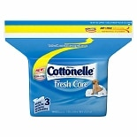 Cottonelle Flushable Moist Wipes Refill Pack Fresh