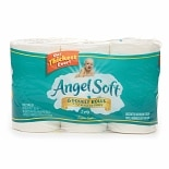 Angel Soft Bath Tissue, Double Roll