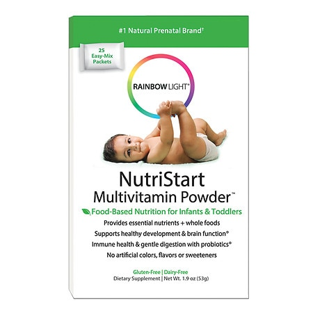 Rainbow Light NutriStart Multivitamin Powder Packets 25 pk
