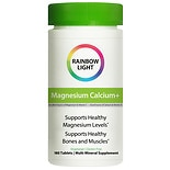 Rainbow Light Magnesium Calcium+ Dietary Supplement Tablets
