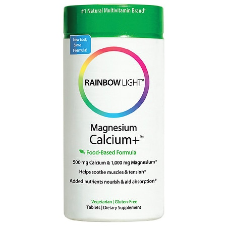 Rainbow Light Magnesium Calcium+