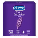 Durex Extra Sensitive Ultra Thin Condoms with Extra Lube