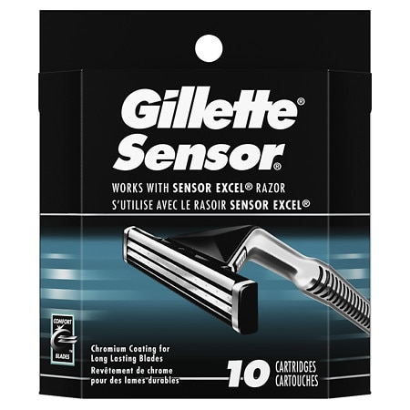 Gillette Sensor Razor Refill Cartridges