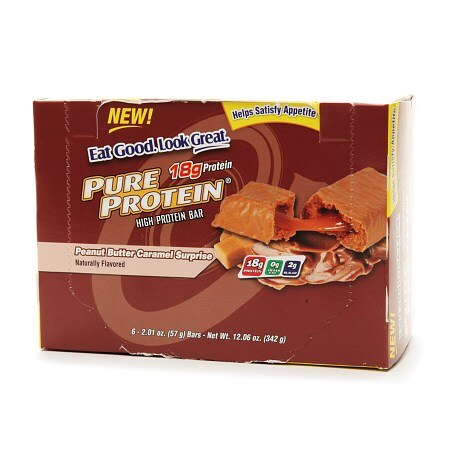 Pure Protein High Protein Snack Bar Peanut Butter Caramel Surprise