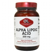 Olympian Labs Alpha Lipoic Acid 200mg
