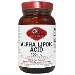 Olympian Labs Alpha Lipoic Acid 100mg