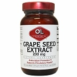 Olympian Labs Grape Seed, Extra Strength 200mg