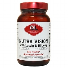 Olympian Labs Nutra-Vision Lutein & Bilberry Capsules