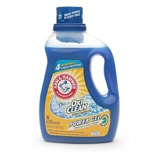 Plus the Power of OxiClean Stain Fighters, Gel Laundry Detergent