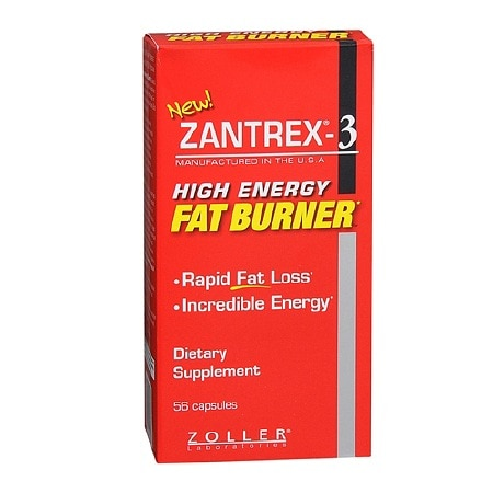 Zantrex-3 Weight Loss Dietary Supplement Capsules Health Fitness Skin Care Beauty Supply Deals