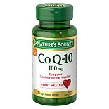 Nature's Bounty Co Q-10 100 mg Plus Q-Sorb Dietary Supplement Softgels