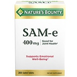 Nature's Bounty SAM-e 400mg, Double Strength, Tablets