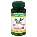 Nature's Bounty Odor-Free Garlic 2000mg, Tablets