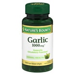 Odorless Garlic 1000 mg Dietary Supplement Softgels