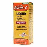 American Health Ester-C Liquid 250mg with Citrus Bioflavonoids Berry