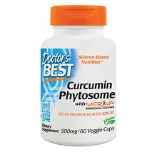 Doctor's Best Curcumin Phytosome Featuring Meriva, 500mg, Veggie Caps