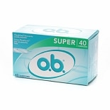 o.b. Super Tampons Super Absorbency