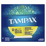 Tampax Tampons with Cardboard Applicator