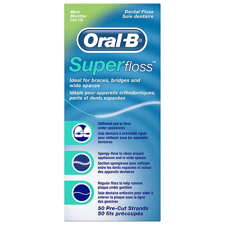 Oral-B Super Floss Mint