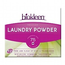 biokleen Free & Clear Laundry Powder,