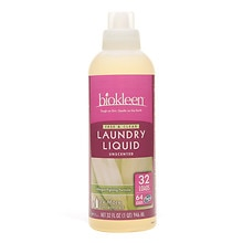 biokleen Laundry Liquid, Free & Clear (32 Top/64 HE Loads) Unscented