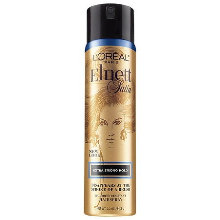L'Oreal Paris Elnett Satin Hairspray, Travel Size Extra Strong Hold