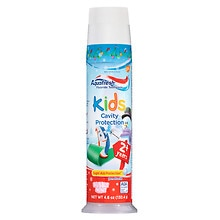Aquafresh Kids Cavity Protection Fluoride Toothpaste Bubblemint