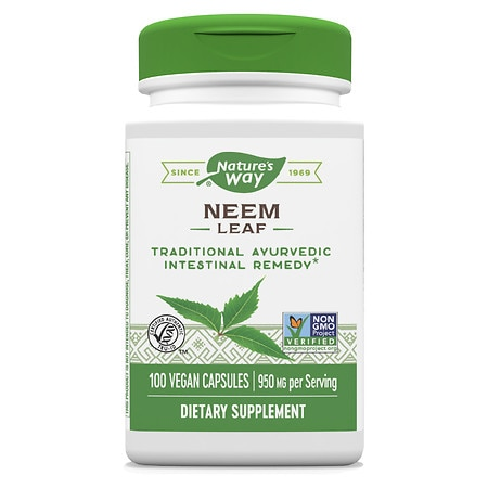 Nature's Way Neem Leaves 475mg, Capsules