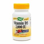 Nature's Way Vitamin D3 2000 IU, Softgels