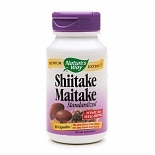 Nature's Way Shiitake Maitake Standardized, Capsules