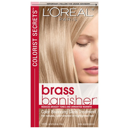 L'Oreal Paris Colorist Secrets Brass Banisher Color Balancing Gloss Treatment
