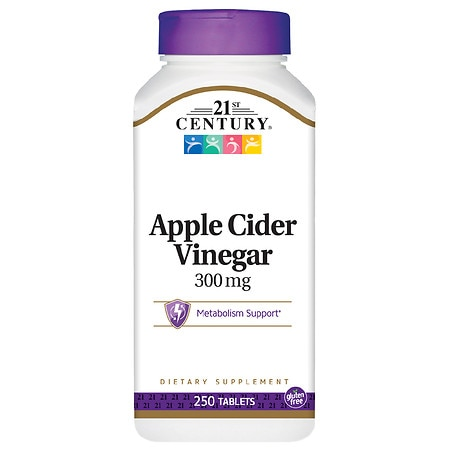 21st Century Apple Cider Vinegar 300mg