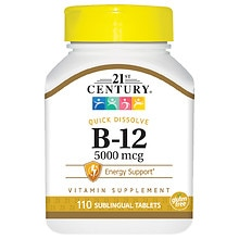Sublingual Vitamin B-12 5000mcg