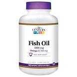 21st Century Enteric Coated Fish Oil 1000mg, Reflux Free