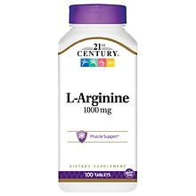 21st Century L-Arginine 1000mg, Maximum Strength