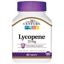 21st Century Lycopene 25mg, Maximum Strength