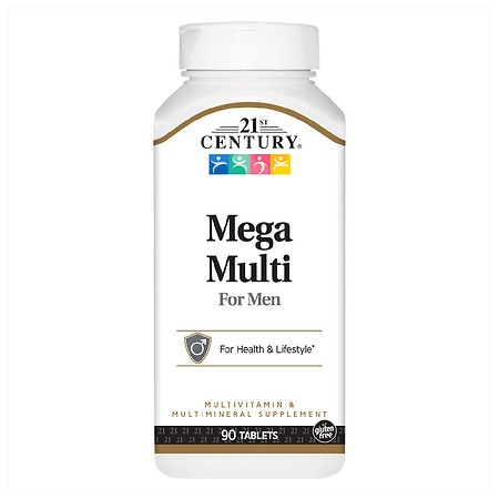 21st Century Mega Multi for Men, Multivitamin & Multimineral