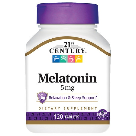 21st Century Melatonin 5mg, Maximum Strength